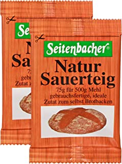 Seitenbacher Natur-sauerteig, flüssig, 10er Pack 10 x 150 g Packung= 10 x 2 x 75g