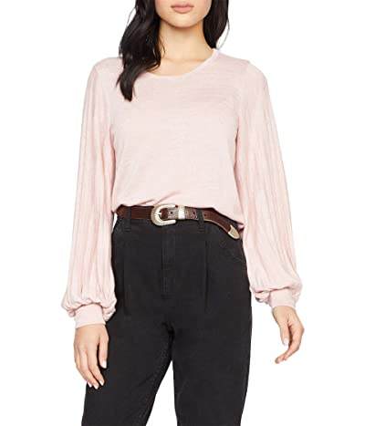 Sanctuary All Out Pleated Sleeve Tee (Midnite Rose) Women