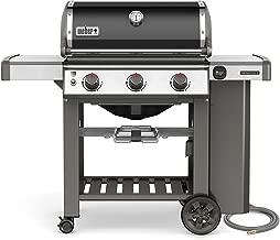 Weber 66010001 Genesis II E-310 Natural Gas Grill, Black, Three-Burner