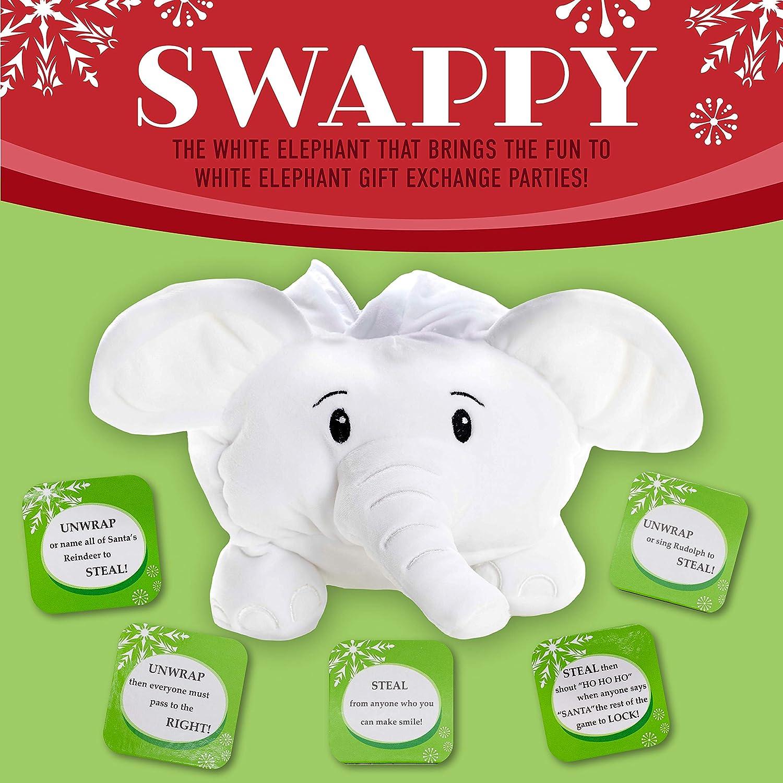 Amazon.com White Elephant Party Kit   Swappy The White Elephant ...