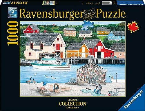 hasta 60% de descuento Ravensburger Fisherman's Cove Canadian Collection Canadienne Puzzle (1000-Piece) by Ravensburger Ravensburger Ravensburger  ventas en linea