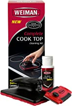 Weiman Complete Cook Top Cleaning Kit - Cook Top Cleaner and Polish 2 oz, Scrubbing Pad, Cleaning Tool, Cook Top Razor Scraper