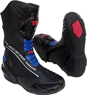 nuovo prodotto accogliente fresco goditi il miglior prezzo Amazon.it: Blu - Stivali da moto / Abbigliamento protettivo ...