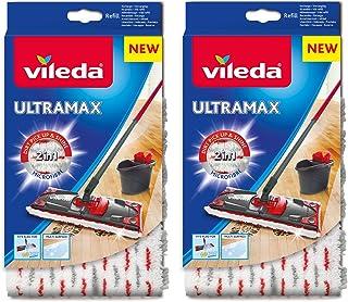 Vileda Ultramax/1–2 Spray Recharge en microfibre – Lot de 2