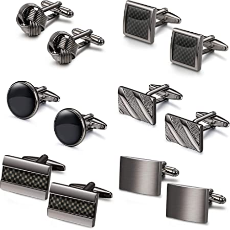 Details about  /Stainless Steel Classic Cufflinks for Men Wedding Business