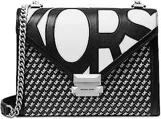 Michael Kors Shoulder Bag for Women-Black/White