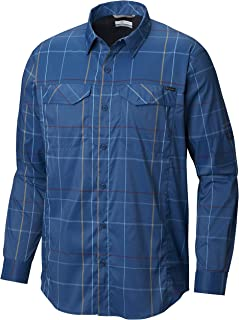 Columbia Men's Silver Ridge Lite Plaid Long Sleeve Shirt