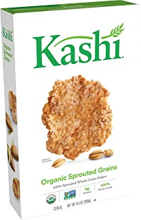 Kashi, Breakfast Cereal, Organic Sprouted Grains,Vegan, Non-GMO Project Verified, 9.5 Ounce (Pack of 1)