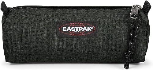 Eastpak Benchmark Single Estuche, 21 Cm, Verde (Crafty Moss)