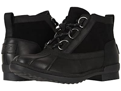 UGG Heather Boot (Black) Women