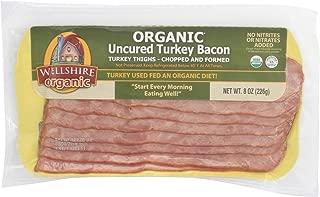 Wellshire Farms, Organic Uncured Turkey Bacon, 8 oz