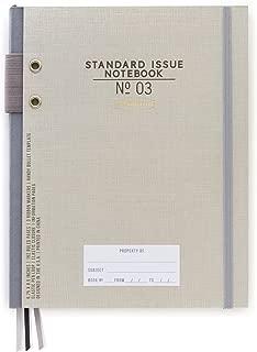 standard size of a notebook