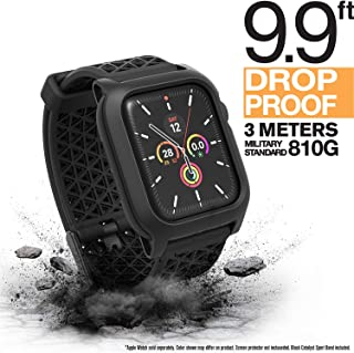 Catalyst Case for Apple Watch Series 5 and Series 4 40mm, Buckle Edition, Drop Proof 9.9ft, ECG and EKG Compatible, Sport Band, Breathable, Rugged, Drop Proof for Apple Watch Case, Stealth Black