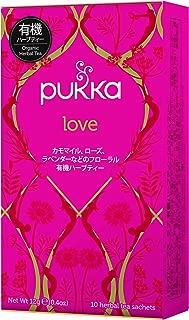 pukka (packer) Love organic herbal tea 10TB