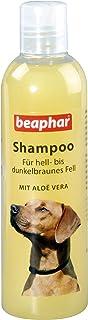 Hunde Shampoo für braunes Fell | Hundeshampoo für glänzendes Fell | Mit Aloe Vera | pH neutral | Hunde-Shampoo für Yorkies, Retriever etc. | 250 ml