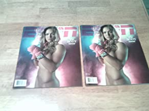 Lot of 2 New Unread ESPN Magazines, 2012 Body Issues-Ronda Rousey