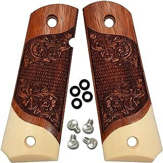 custom engraved 1911 wood grips