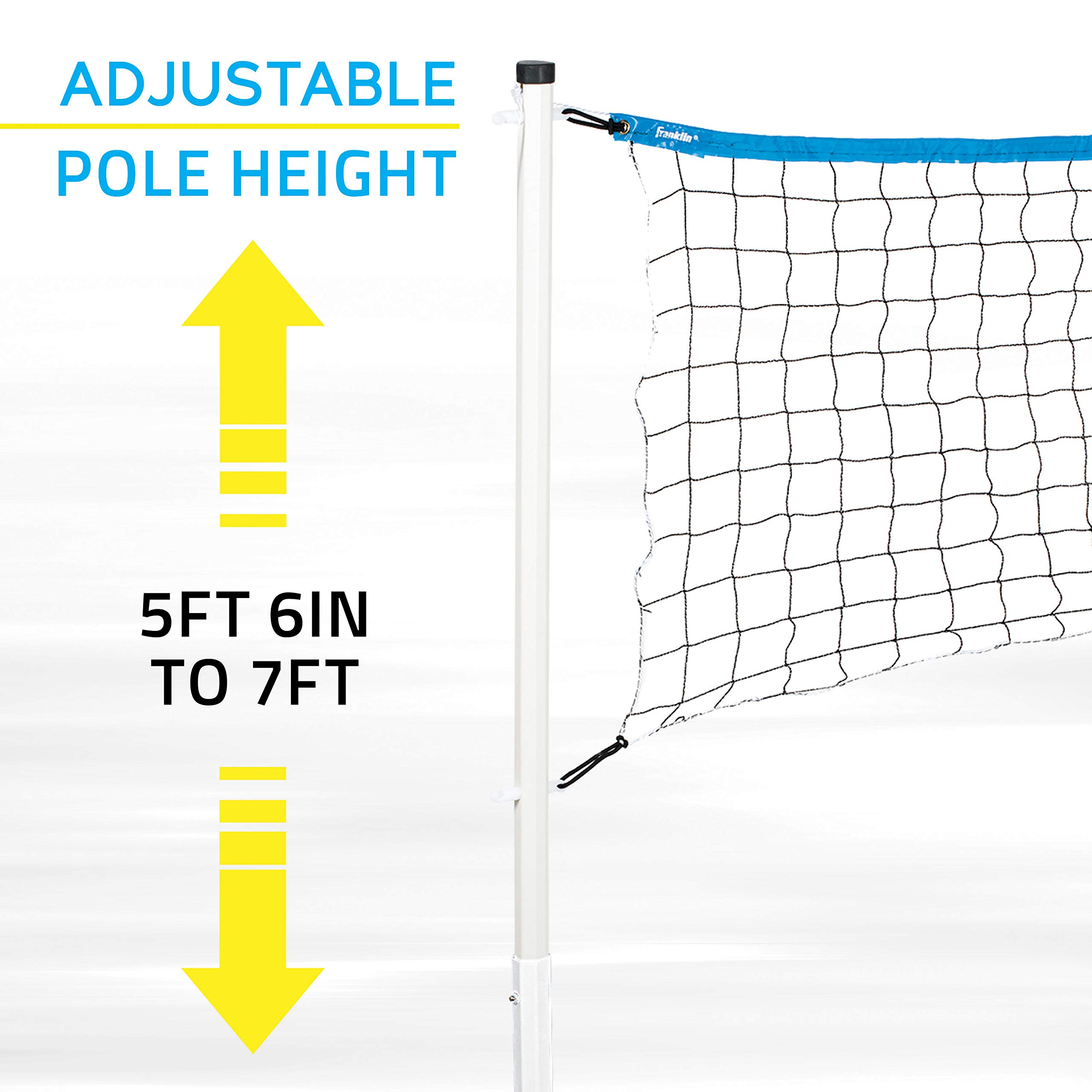 Franklin Sports Combo Set Badminton Volleyball Flip Toss Horseshoes Flying Disc Amazon Sg Sports Fitness Outdoors