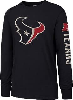 NFL Men's OTS Slub Long Sleeve Team Name Tee