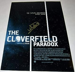 JULIUS ONAH signed (THE CLOVERFIELD PARADOX) 12X18 movie photoDIRECTOR W/COA