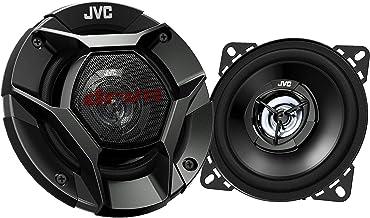 "$23 » JVC CS-DR421 DRVN Series 4"" 2-way 220 Watt Car Speakers (Coaxial) - Set of 2 (Black) with new shallow design (Renewed)"