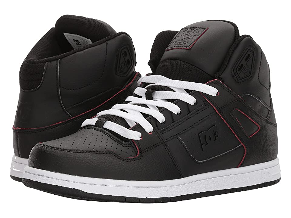 DC Pure High-Top SE (Black/Red/White) Men