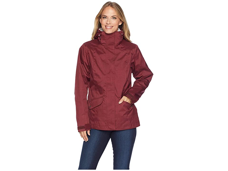 Columbia Sleet to Street Interchange Jacket (Rich Wine) Women