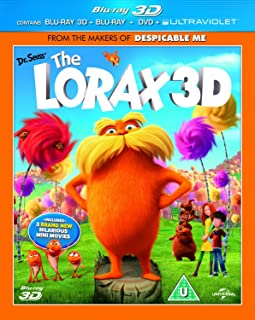 Dr Seuss' The Lorax [Blu-ray 3D + Blu ray]