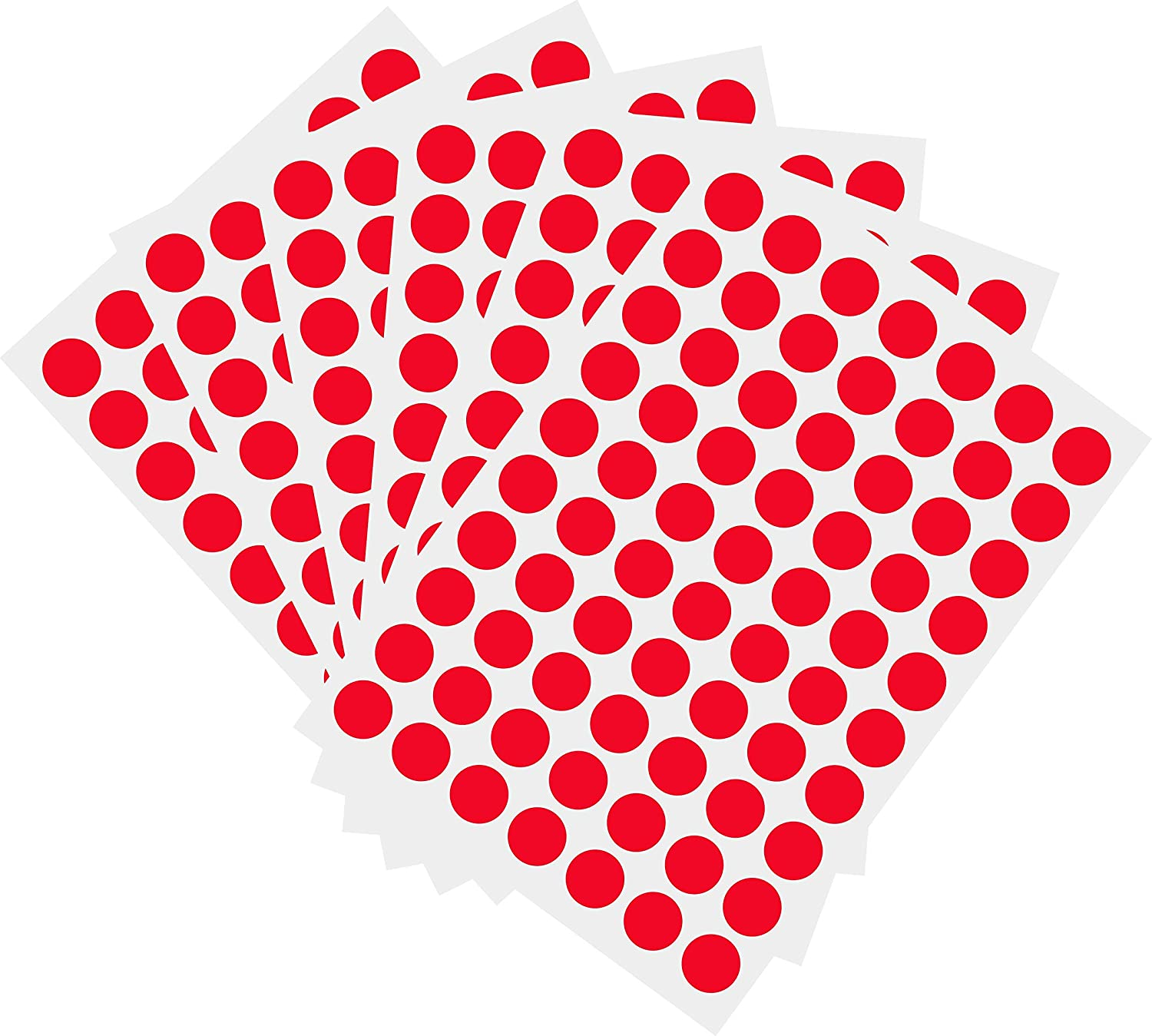 Ranking TOP3 1050 PCS 3 4 Inch Round Coded Stickers Color-Code 40% OFF Cheap Sale Color Dot Sti