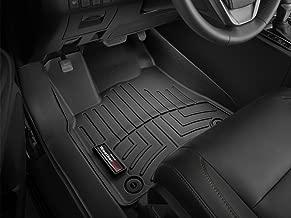 WeatherTech Custom Fit FloorLiner for Ford Super Duty - 1st Row (Black)