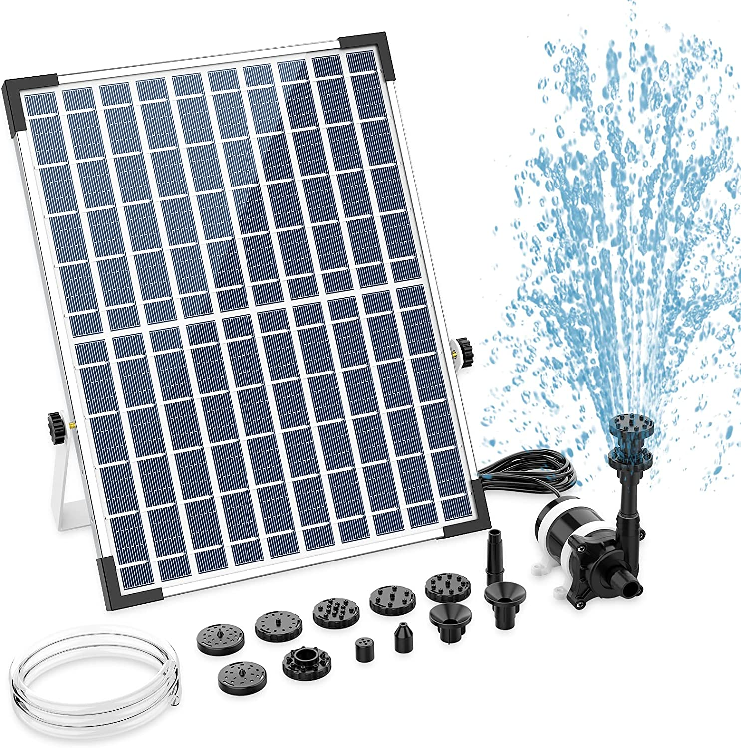AISITIN 12W Powerful Solar New arrival outlet Pump w Fountain Water