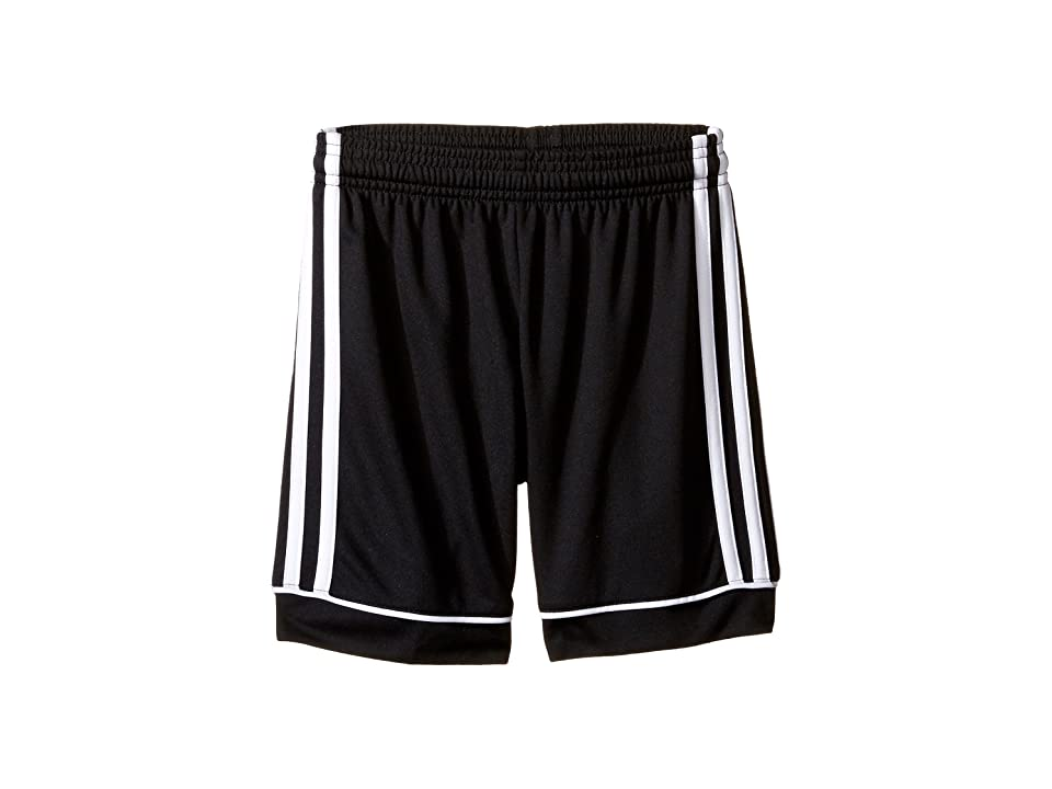 adidas Kids Squadra 17 Shorts (Little Kids/Big Kids) (Black/White) Boy's Shorts