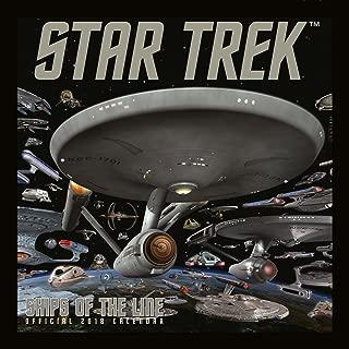 Star Trek: Ships Of Line Official 2018 Calendar - Square Wall Format
