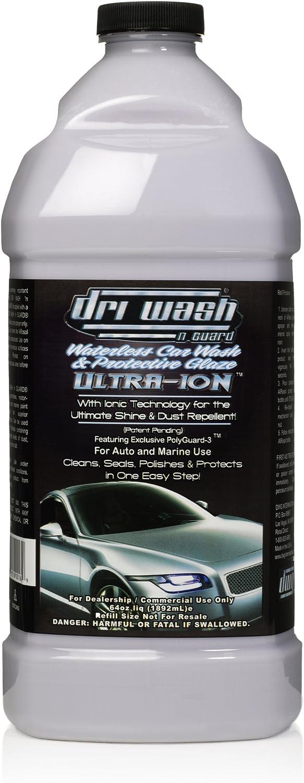 Dri Wash 'n Guard Indefinitely Ultra-ION Waterless Car 64oz Ranking TOP6