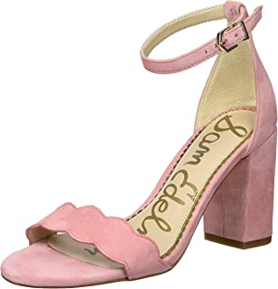 a5eeae4966 Amazon.com: Pink - Heeled Sandals / Sandals: Clothing, Shoes & Jewelry
