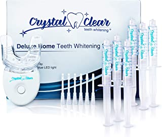 Crystal Clear Teeth Whitening Gel (6 Pack) MADE IN USA! Dentists APPROVED.Money Back Guaranteed