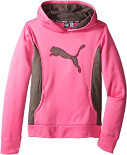 Puma Kids - Cat Hoodie w/ Thumb Hole (Big Kids)
