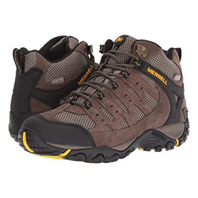 Merrell Accentor Mid Vent Waterproof (Stone/Old Gold) Men