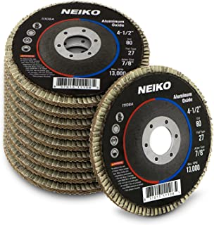 Neiko 11108A Aluminum Oxide Flap Disc | 4.5