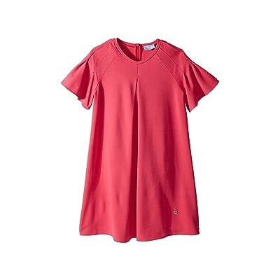 Lanvin Kids Jersey Flare Dress (Big Kids) (Hot Pink) Girl