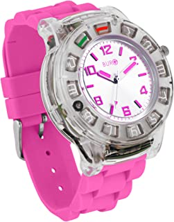 BURG Neon 14 Smartwatch Phone with SIM Card - Pink (WP14104)