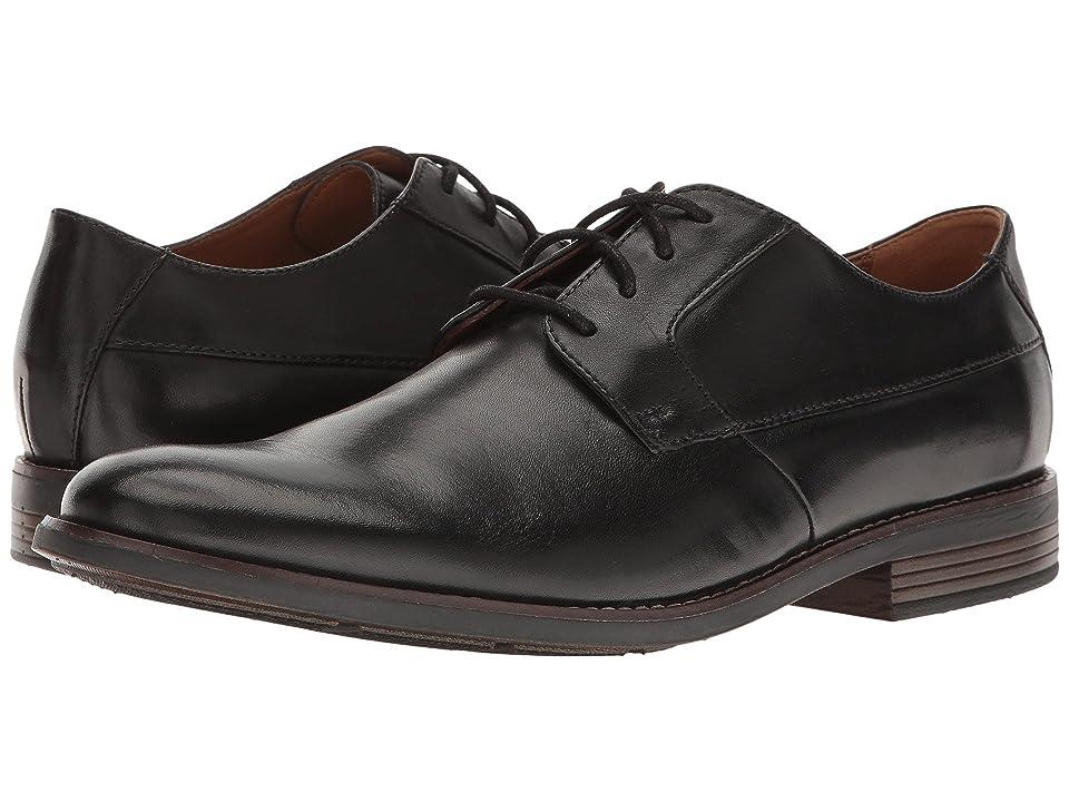 Clarks Becken Plain (Black Leather) Men