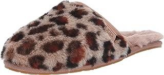 Women's Fluffette Leopard Slipper
