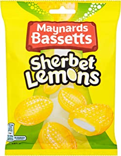 Bassetts Sherbert Lemons 192g (Pack of 6)