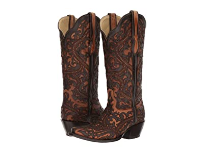 Corral Boots G1309 (Brown) Cowboy Boots