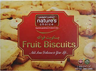 Natures Choice Fruit Biscuits, 300gm