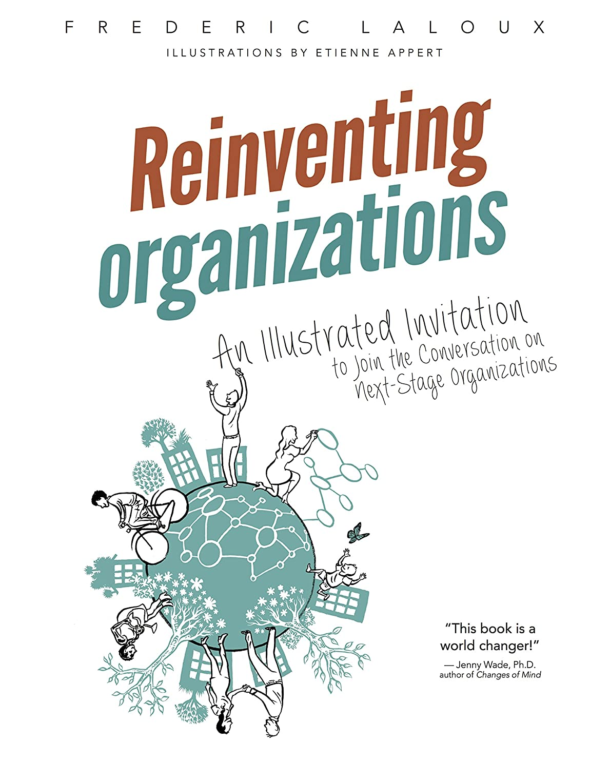 前方へはさみスポークスマンReinventing Organizations: An Illustrated Invitation to Join the Conversation on Next-Stage Organizations (English Edition)
