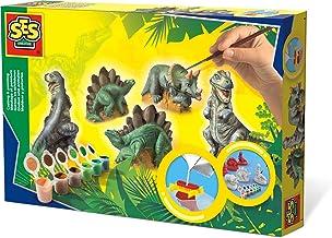 SES Deutschland 01406 - Set para pintar figuras de dinosaurios [importado de Alemania] , color/modelo surtido