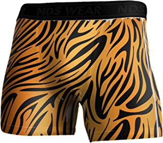 Tiger Print Boxer Brief Dual Sided All Over Print