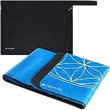 Navaris opvouwbare yogamat voor op reis - 1,5 mm dikke yoga mat voor yoga, pilates, training en fitness - Met antislip en ...